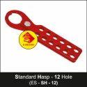 Lockout Standard Hasp - 12 Hole