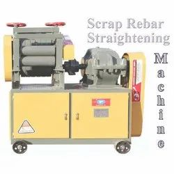 Automatic and Manual Scrap Bar Straightening Machine