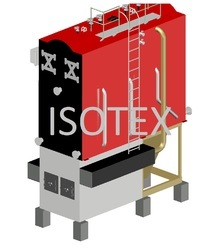 Solid Fuel Fired FBC Steam Boiler With Bed Coil