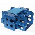 Stainless Steel Blue Sheet Metal Fabricated Parts, Packaging Type: Carton