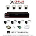CP Plus Astra HD 8 Channel DVR with 2.4 MP 4 Dome & 4 Bullet Cameras 2 TB Surveillance HDD (3 1)