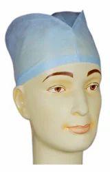 Blue PP Fabric Surgeons Cap