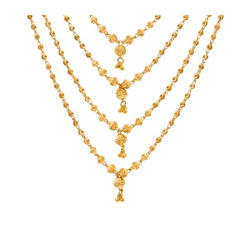 Gold Vertical Nacklace