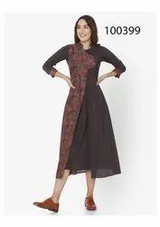 Delightful Georgette Printed Kurti By Parvati Fabric