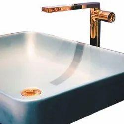 Pedestal Ceramic Sleek Designer Wash Basin