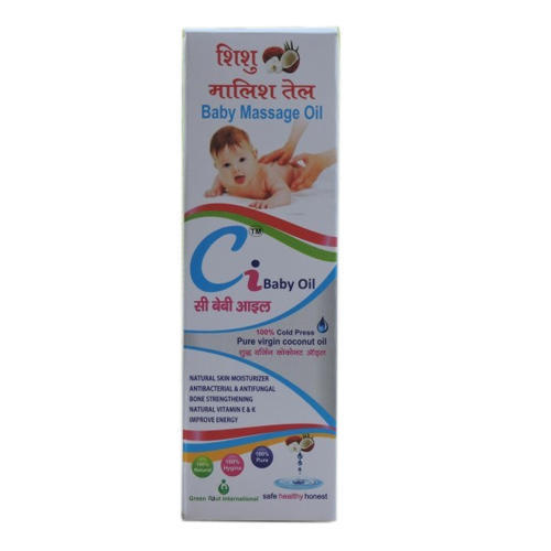 Ci Baby Oil Coconut Baby Massage Oil Rs 170 Bottle