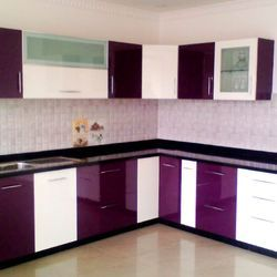 Customized PVC Kitchen Cabinet, Kaka PVC Profile Private Limited | ID:  14309347397