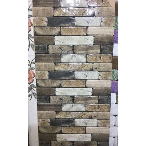 Ceramic 3D Elevation Tiles, Thickness: 8 to 10 mm