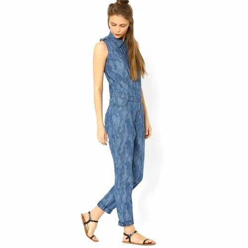 Ladies Cotton Printed Casual Jumpsuit Rs 1000 Piece Hi Tech