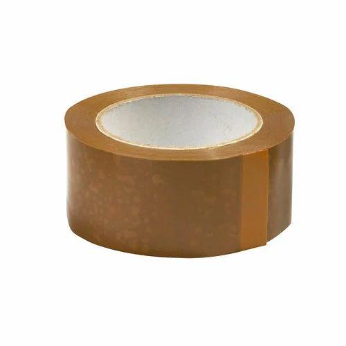 Brown BOPP Adhesive Tape, Packaging Type: Roll