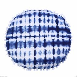 Blue White Color Tie Dye Cushion Cover
