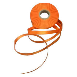 Orange Polyester Lanyard Roll