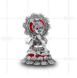 White Metal Balkrishna Statue