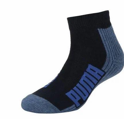 10e4a282c Navy Unisex Cushioned Quarter 2P Puma Socks, Size: 37/40, Rs 502 ...