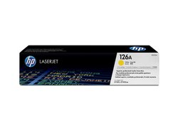 HP Ce312a Yellow Toner Cartridges