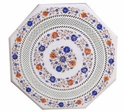 Hnadicraft Marble Inlay Table Top