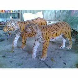 FRP Tiger Statue (Code A-2)