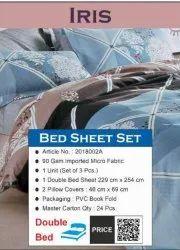Iris Bed Sheet