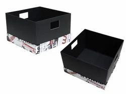 Cardboard Gift Basket