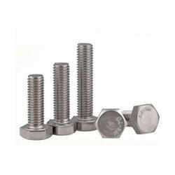 Stainless Steel/Duplex Steel/ Nickel Alloys Chrome Plated Hex Bolt