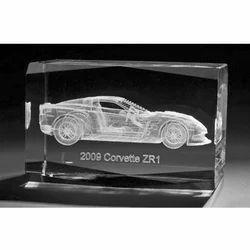 3D Crystal Car