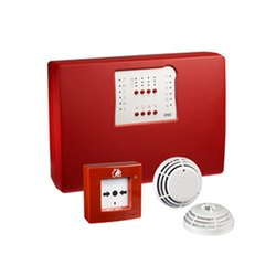 Red Fire Alarm Control Panel Fire Alarms