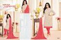 Printed Collar Neck Maarisha Salwar Suit Fabric