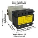 90 AMP 3 PHASE UNIVERSAL TO AC SSR