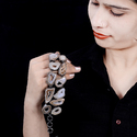 Agate Druzy Slice Bracelet