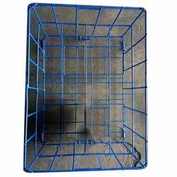 Blue Kitchen Wire Basket