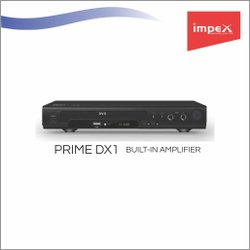 Prime DX1 DVD Player (PRIME DX1)  Built In Amplifier