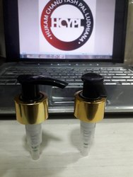 LOTION PUMPS WITH GOLDEN SHELL
