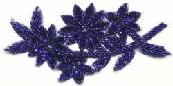 Blue Beaded Patches
