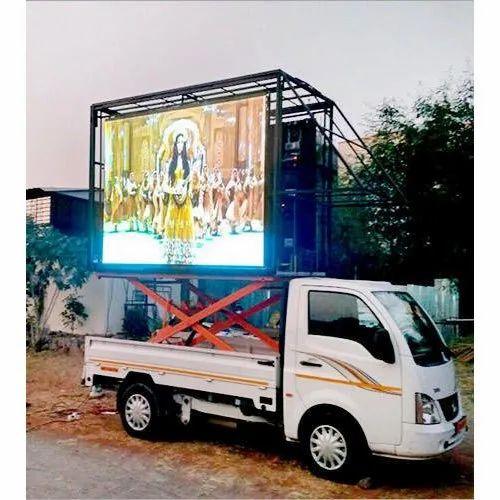 LED Video Display Van