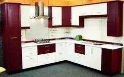 PVC Modular Kitchen Cabinets