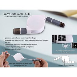 Yo Yo Data Cable ( For Android / Windows / iPhone)