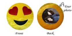 Smiley Sublimation Cushion
