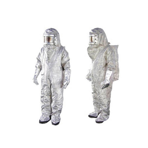 Silver Alugen Aluminised Fire Suit