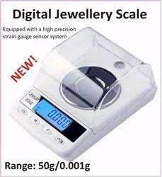 Stainless Steel Digital Jewellery Scale, Model Name/Number: Dm Series
