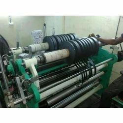 Poly Film Slitting Rewinder Machine