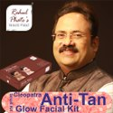 Rahul Phate's Cleopatra Anti Tan Glow Facial Kit