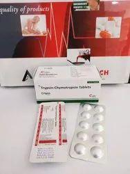Trypsin 10000 IV Chymotrypsin Tablet