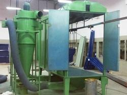 Diesel Fired Powder Coating Booth