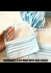 Face Mask with Face Shield