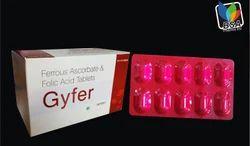 Gyfer Ferrous Ascorbate with Folic Acid Tablets, BSA Pharma