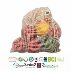 Natural Recycle Net Bags