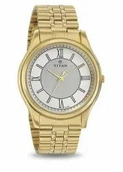 Round Analog Titan Mens Watches, Model Name/Number: 1713ym01