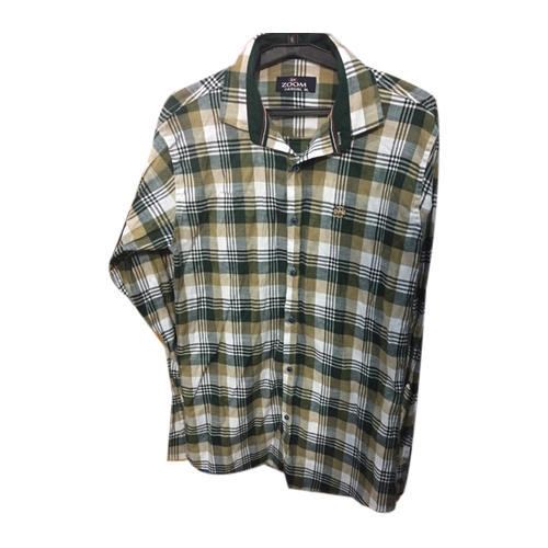 a9918e074 Casual Collar Neck Mens Check Shirt, Rs 245 /piece, Zoom Garment ...