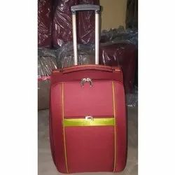 Red Travel Trolley Bags