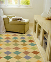 Floral Design Hand Tufted Carpets